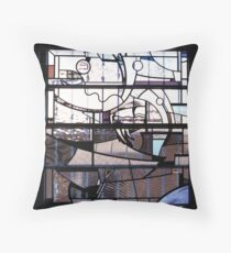 Study Window, Greenwich Throw Pillow