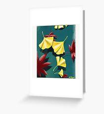 Autumnal Equinox Greeting Card