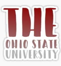 THE ohio state university Sticker