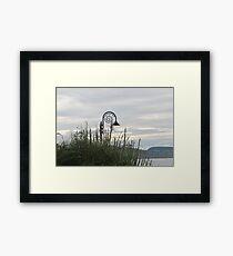 Lyme Regis Gardens ....Dorset UK Framed Print