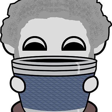 STPC: Grandpa Yo O'BOT Toy Robot (Travel Mug) by carbonfibreme