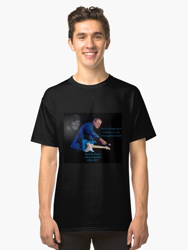 RIP Glen Campbell Classic T-Shirt Front