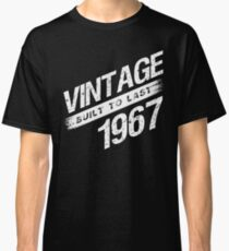 Vintage 1967 Birth Year Classic T-Shirt