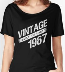 Vintage 1967 Birth Year Women's Relaxed Fit T-Shirt