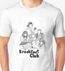 The Breakfast Club Line Drawing Unisex T-Shirt