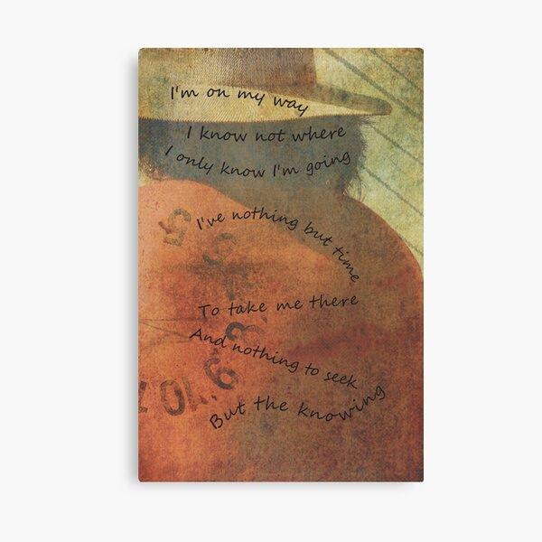 "Journey - ""I'm On My Way"" Canvas Print"