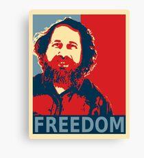 Richard Stallman Canvas Print