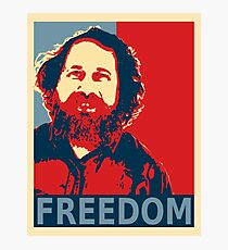 Richard Stallman Photographic Print