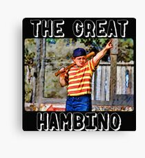 the great hambino - the sandlot Canvas Print