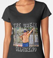 the great hambino - the sandlot Women's Premium T-Shirt