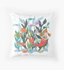 Sea Dreams Throw Pillow