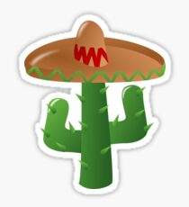 Cactus Sombrero  Sticker