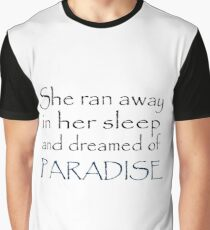 Coldplay Paradise Graphic T-Shirt
