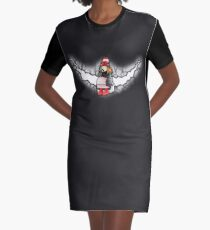 Amelia Pond And The Crack In The Wall Graphic T-Shirt Dress