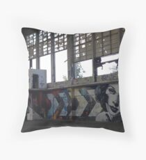 Derelict Throw Pillow