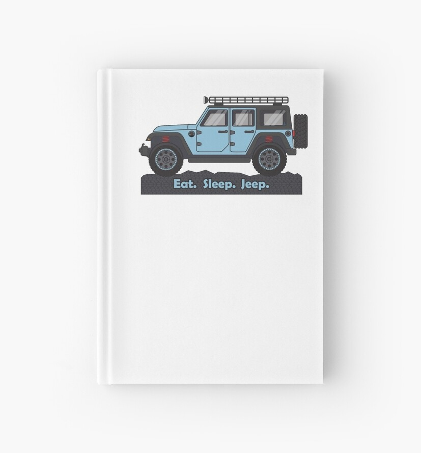 Light Blue Jeep Wrangler By BluAnchor