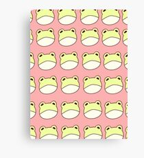 Frog Baby Canvas Print