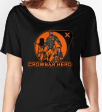 Crowbar Hero Women's Relaxed Fit T-Shirt