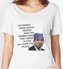 Prison Mike/Michael Scott - The Office US Women's Relaxed Fit T-Shirt