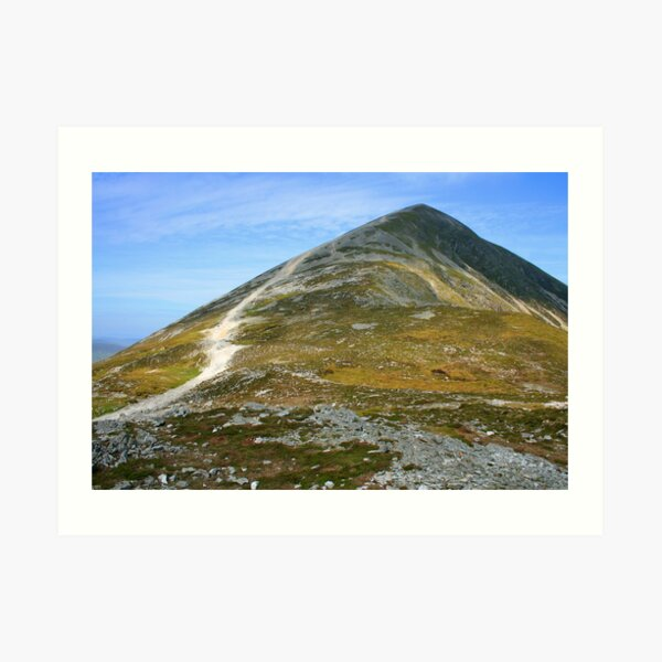 Croagh Patrick mountain Art Print