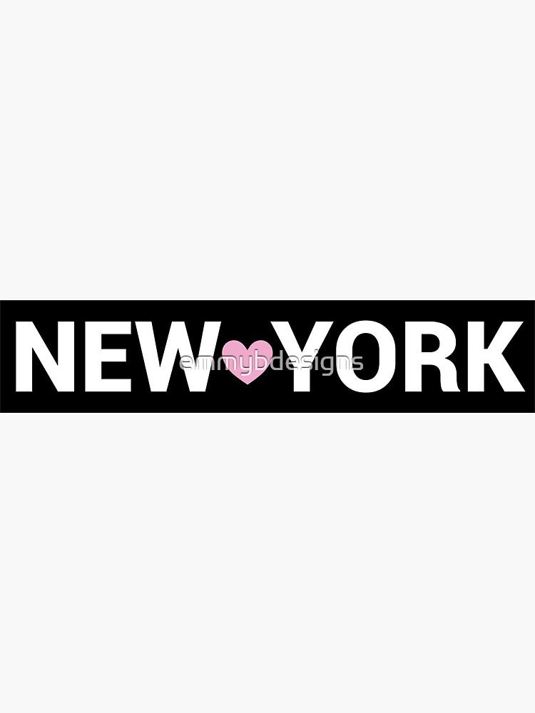 New York Sign by emmybdesigns