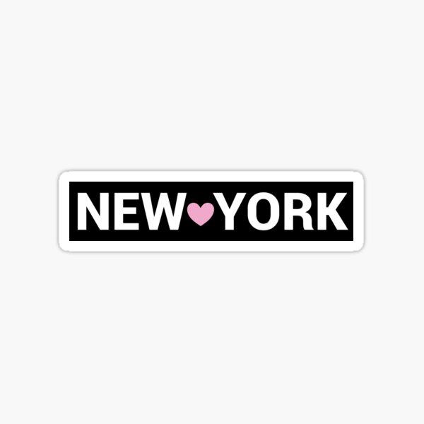 New York Sign Sticker