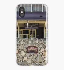 State Game Lodge Custer State Park  iPhone Case