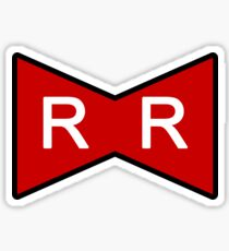 Red Ribbon Army Sticker
