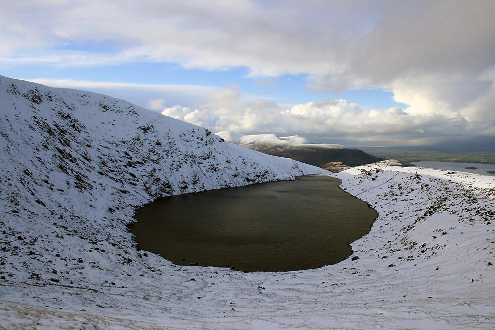 Mangerton corrie lake by John Quinn