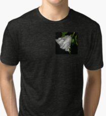 hibiscus flower in the rain Tri-blend T-Shirt