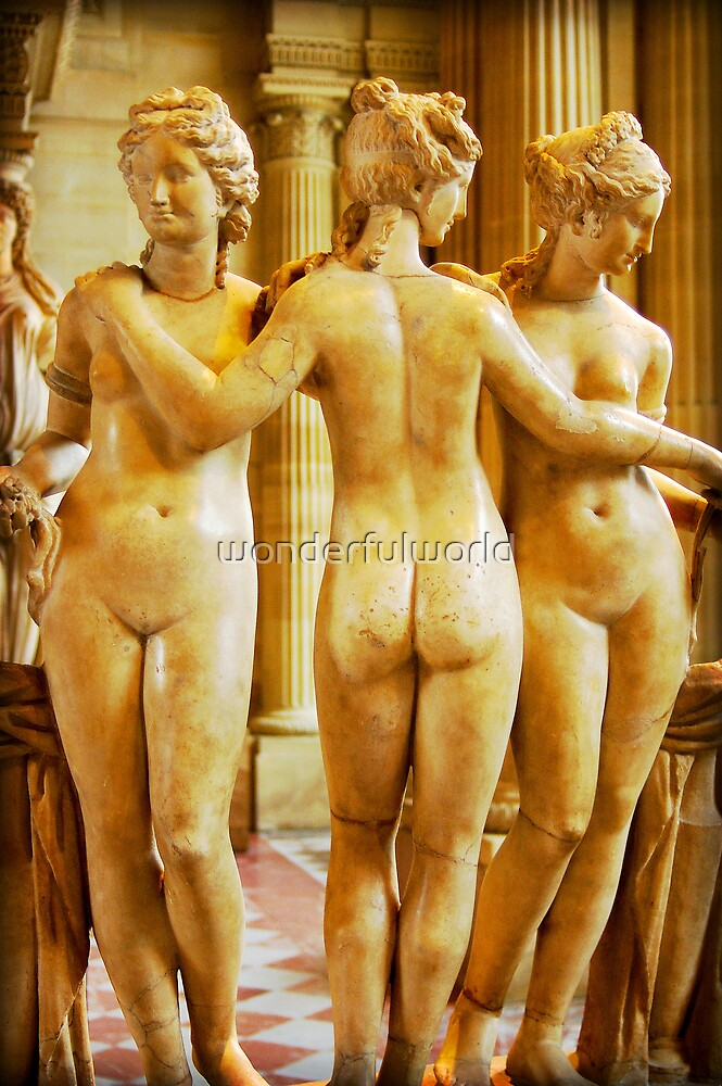 The Three Muses, September 2007 by wonderfulworld