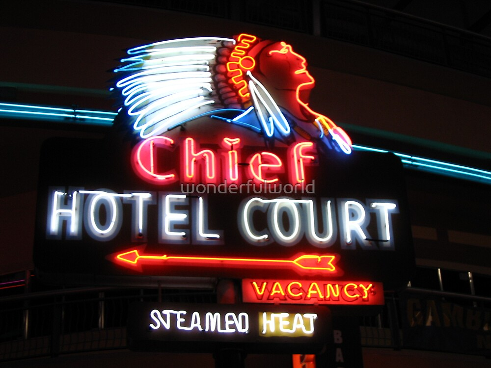 Chief Hotel, September 2005 by wonderfulworld