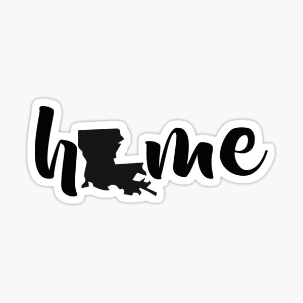 Louisiana State Home Sticker