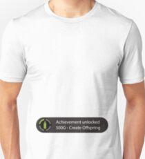 Achievement Unlocked - Create Offspring T-Shirt