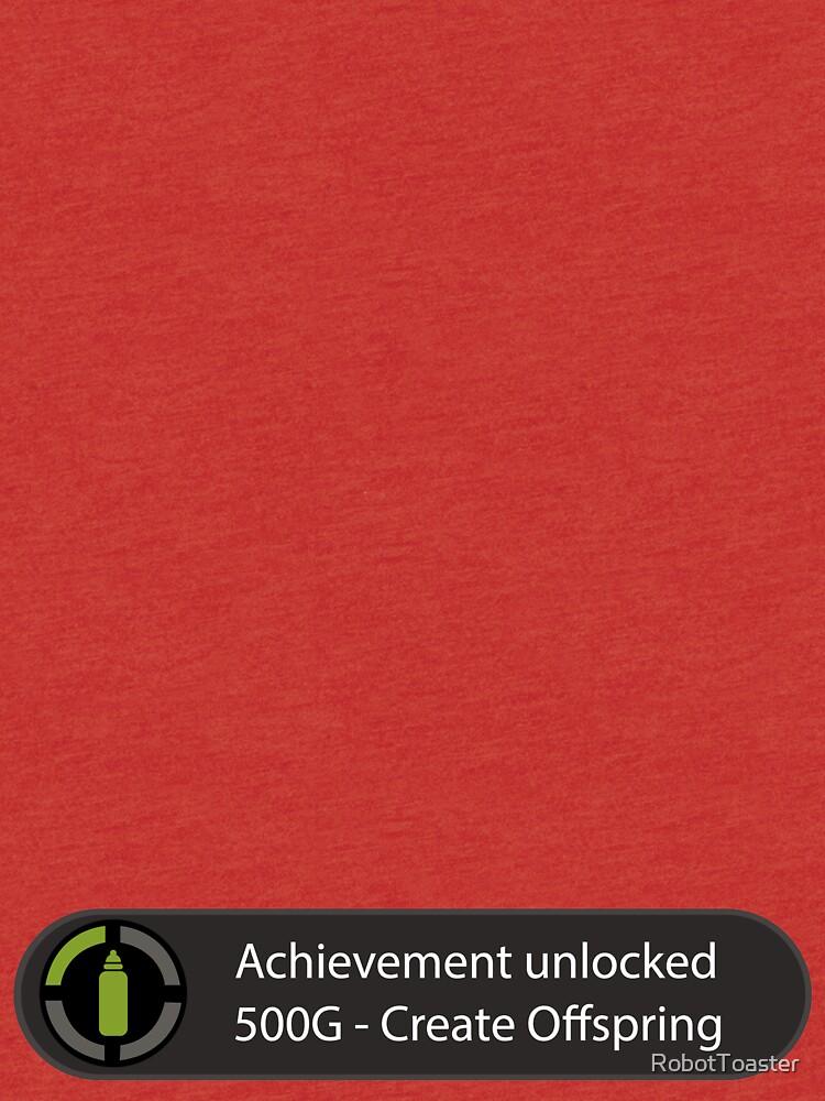 Achievement Unlocked - Create Offspring by RobotToaster