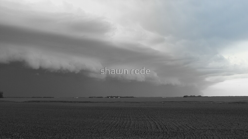 Storm Front Saying Hello by shawn rode