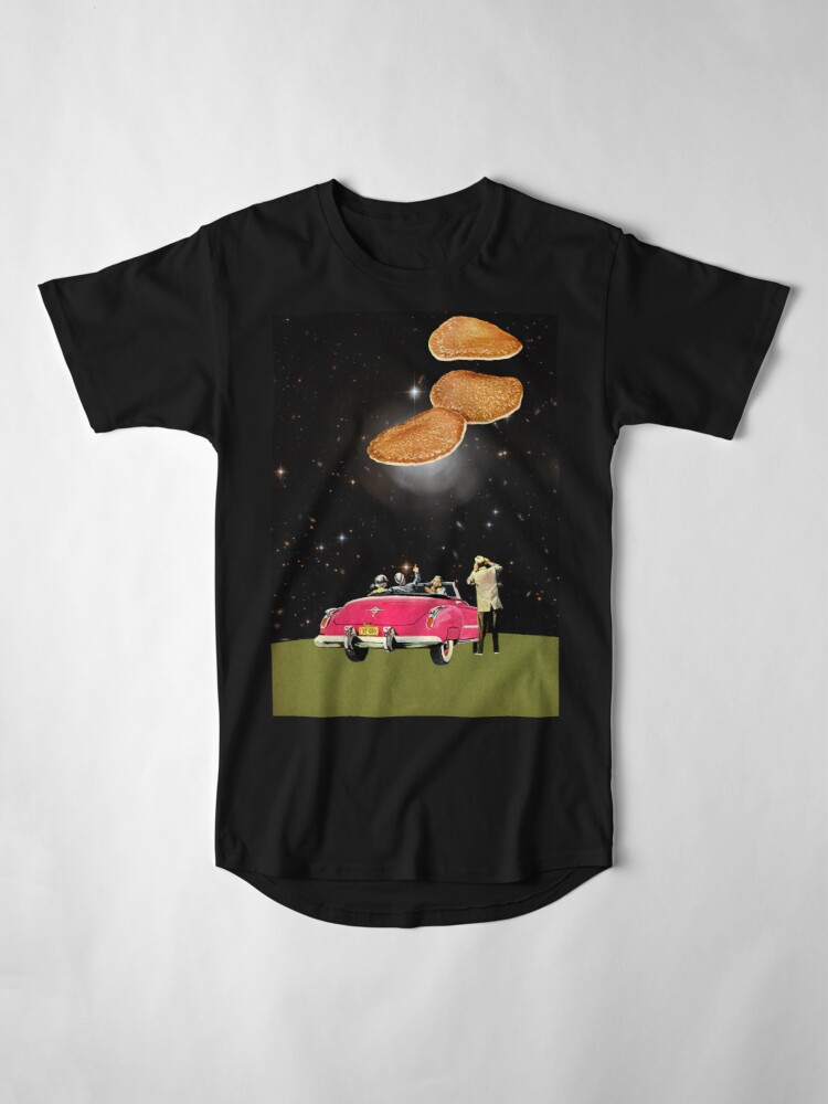 Alternate view of Unidentified flying object Long T-Shirt