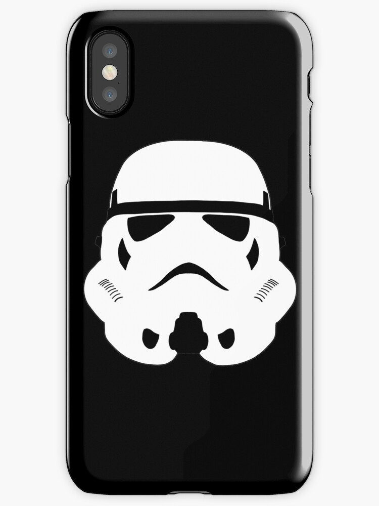 Star WarsTrooper Minimal Iphone Case