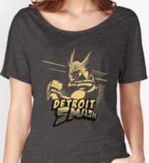 All Might Detroit Smash Women's Relaxed Fit T-Shirt