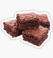 Stack of Brownies Sticker