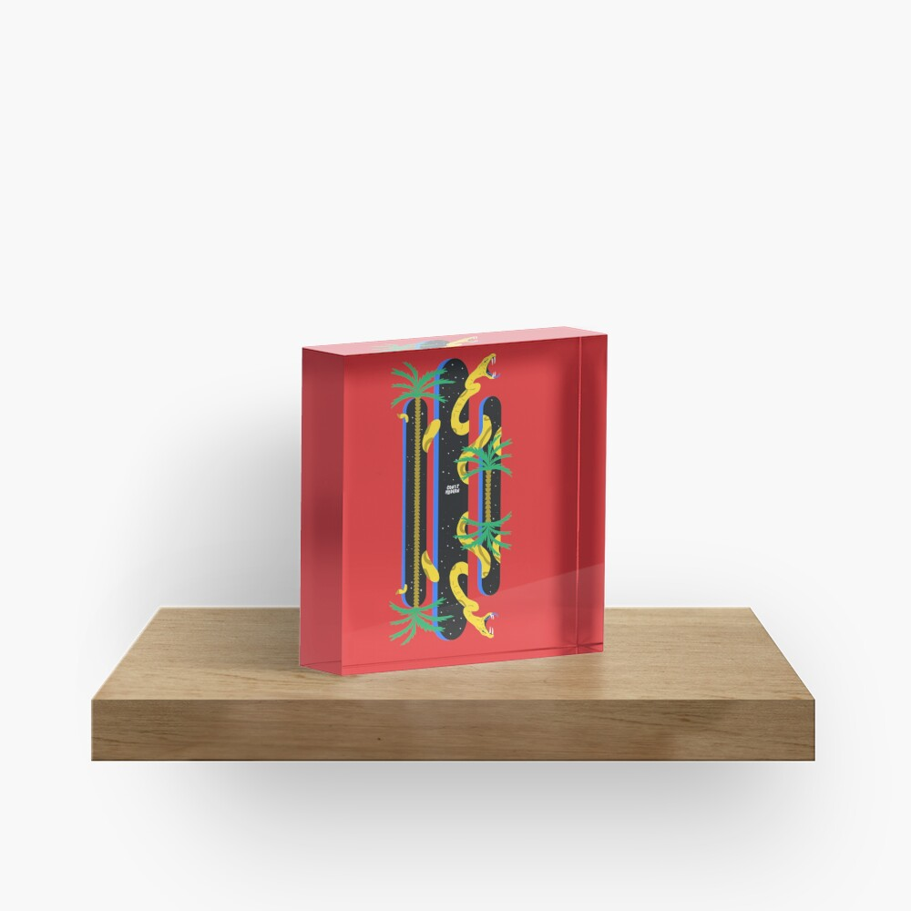 Coast Modern 2 Acrylic Block