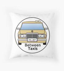 Between Taxis Original Logo Throw Pillow