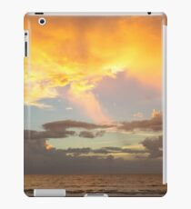 Clouds at sunset, Bang Tao beach, Phuket, Thailand iPad Case/Skin
