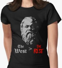 The West > The Rest - Socrates Women's Fitted T-Shirt