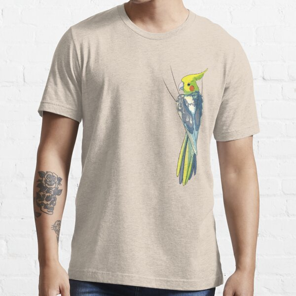 Pied Cockatiel Essential T-Shirt
