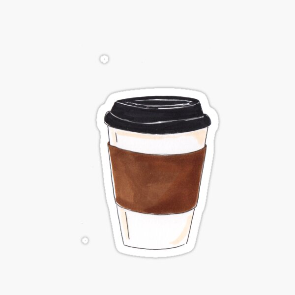 cup to cup  Sticker