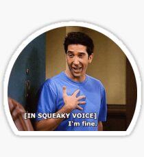 Ross Geller Friends TV  Sticker