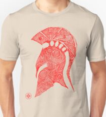 spartan helmet sketch T-Shirt