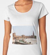 Plaza de Espana  Women's Premium T-Shirt