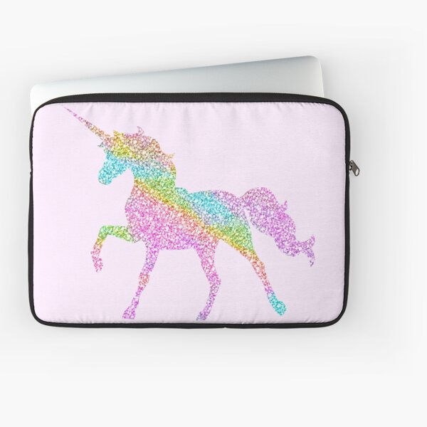 sparkle unicorn Laptop Sleeve